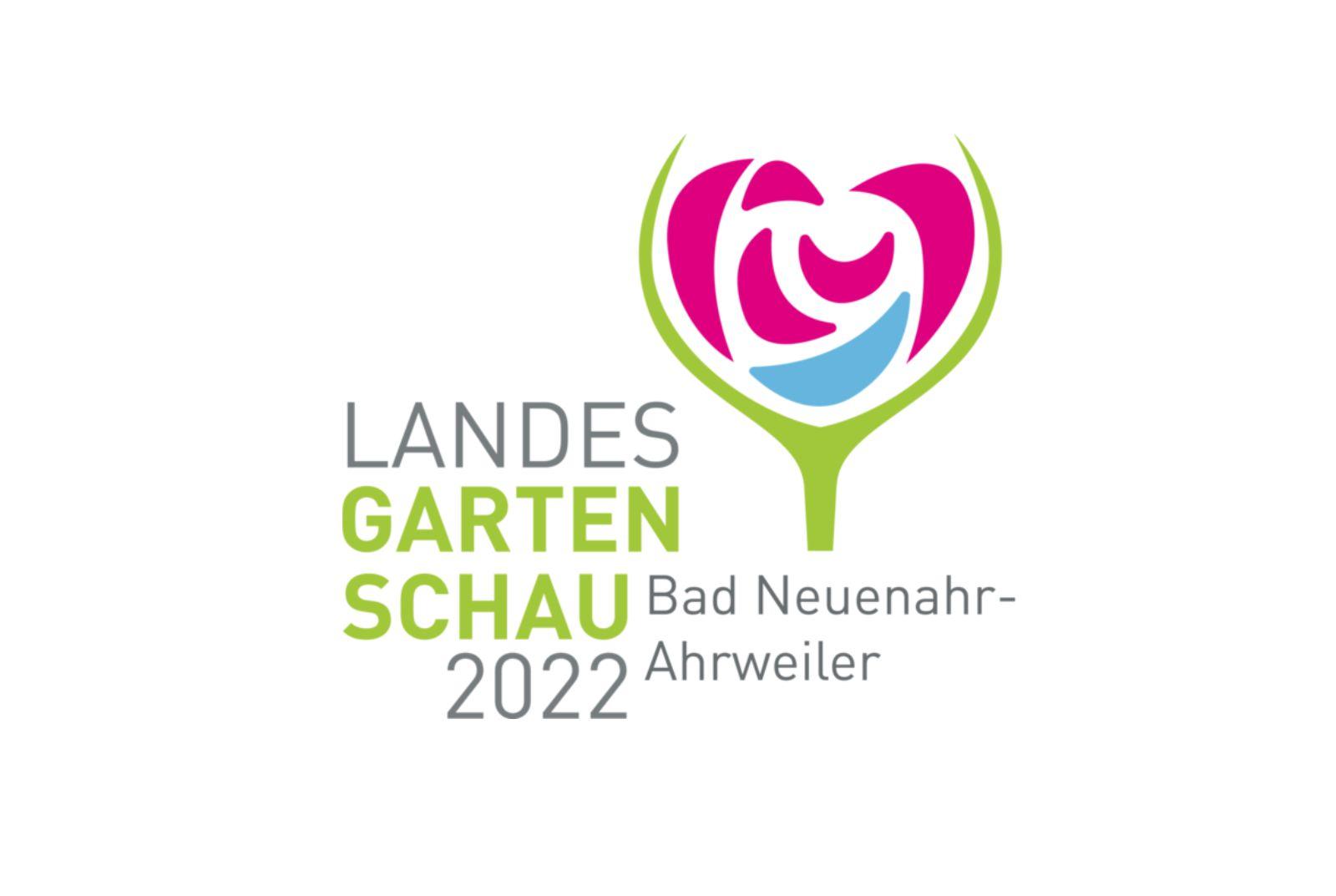 Logo der Landesgartenschau2022
