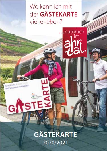 Infobroschüre Gästekarte bis 30.06.2020